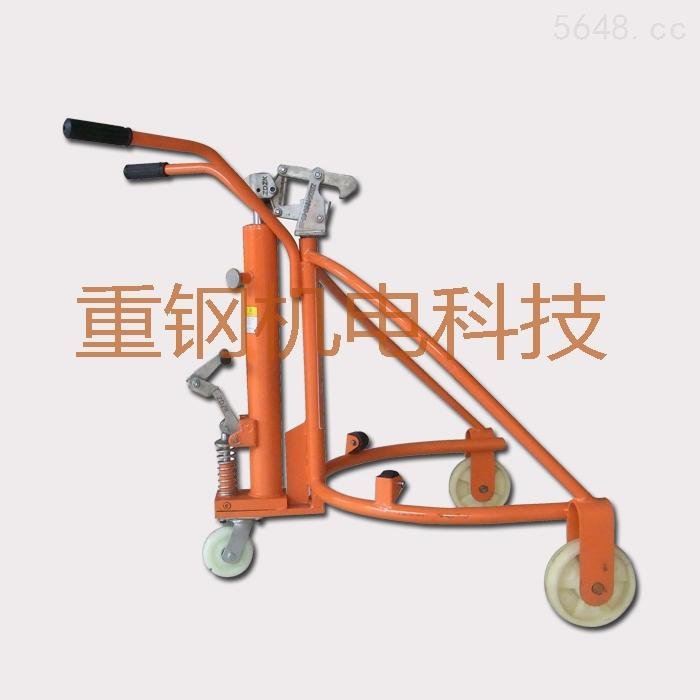 广东油桶搬运车,手推式油桶搬运车